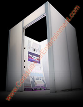 modular photo booth enclosure