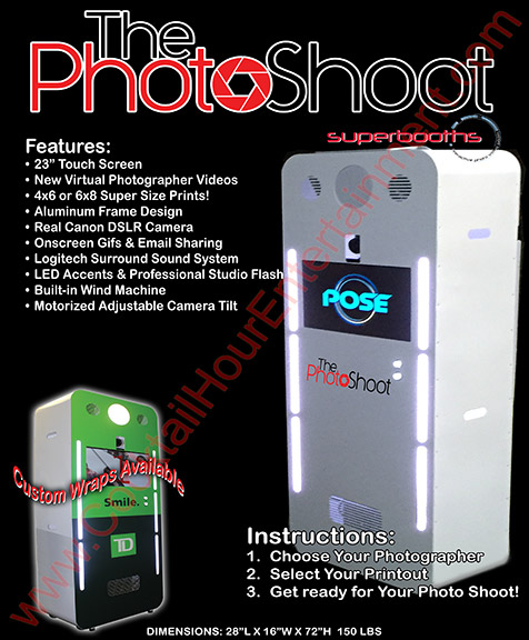 photo shoot booth